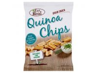 Grocery Delivery London - Eat Real Quinoa Chips - Gluten Free and Vegans - Sour Cream and Onion 80g same day delivery