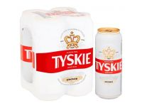 Grocery Delivery London - Tyskie 4x500ml same day delivery