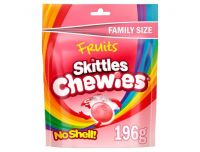 Grocery Delivery London - Skittles Chewies No Shell 196g same day delivery