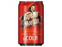 Grocery Delivery London - Captain Morgan Spiced and Cola 250ml same day delivery