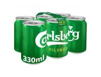 Grocery Delivery London - Carlsberg 6x330ml same day delivery