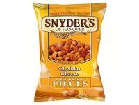 Snyder's Pretzel Pieces Cheddar Cheese 125g