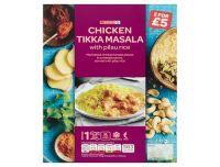 Spar Chicken Tikka Masala With Pilau Rice 450g