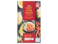 Spar Sweet & Sour Chicken With Egg Rice 450g
