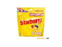 Starburst Fruit Chews Original Sweets Pouch 210g