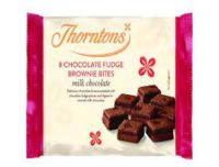 Thorntons Milk Chocolate Fudge Brownie Bites x8