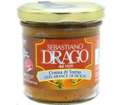 Grocery Delivery London - Drago Tuna Cream with Oranges 130g same day delivery