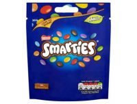Grocery Delivery London - Smarties Pouch 118g same day delivery