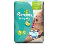 Grocery Delivery London - Pampers Baby-Dry Number 6 19pk same day delivery