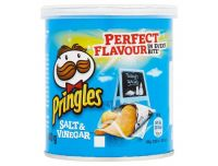 Grocery Delivery London - Pringles Pop And Go Salt & Vinegar 40g same day delivery
