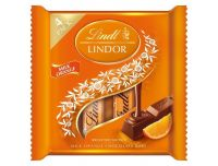 Grocery Delivery London - Lindt Lindor Milk Orange 4 Pack 4x38g same day delivery