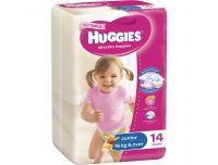 Grocery Delivery London - Huggies Pull Ups Girls 14pk same day delivery