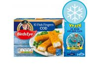 Grocery Delivery London - Birds Eye 10 COD Fish Fingers 280g same day delivery