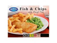 Grocery Delivery London - Kershaws Fish and Chips with Mushy Peas 400g same day delivery