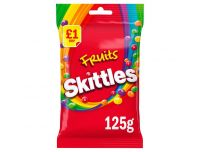 Grocery Delivery London - Skittles Fruits 125g same day delivery