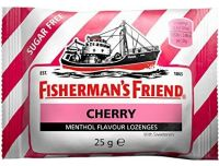 Grocery Delivery London - Fishermans Friend Cherry 25g same day delivery