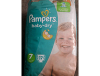 Grocery Delivery London - Pampers Baby-Dry Number 7 17pk same day delivery