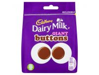Grocery Delivery London - Cadbury Dairy Milk Giant Buttons 95g same day delivery