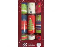 Grocery Delivery London - Co-Op 6 Festive Fun Crackers same day delivery