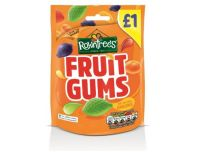 Grocery Delivery London - Rowntrees Fruit Gums Pouch 120g same day delivery