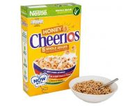 Grocery Delivery London - Nestle Honey Cheerios Cereal 375g same day delivery
