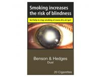 Grocery Delivery London - Benson And Hedges Dual King Size 20 Pack same day delivery