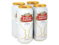 Grocery Delivery London - Stella Artois 4x500ml same day delivery