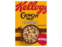 Grocery Delivery London - Crunchy Nut Chocolate Cluisters 450g same day delivery