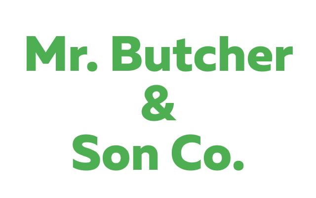 Mr. Butcher